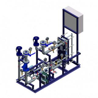 Блочный тепловой пункт Ridan WL - Блок системы вентиляции Ридан